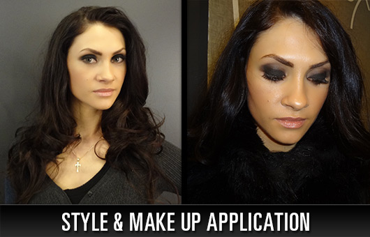 Style and Makeup Application